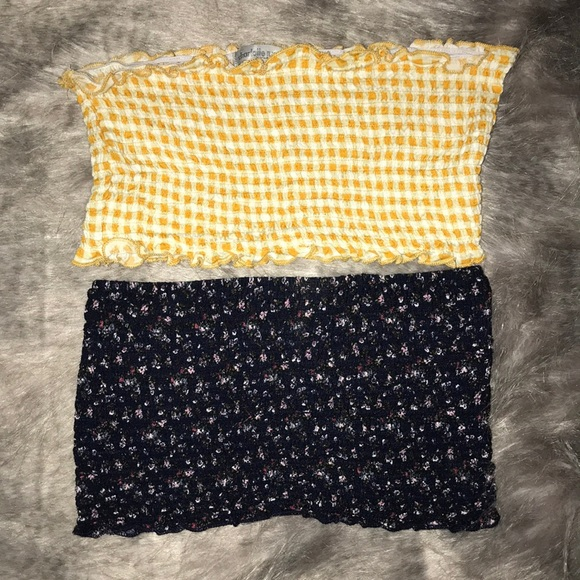 Charlotte Russe Tops - Bandeau/tube top bundle